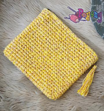Tassel Pouch Yellow House of Marni