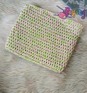 HoM Mini Pouch Pinky Green