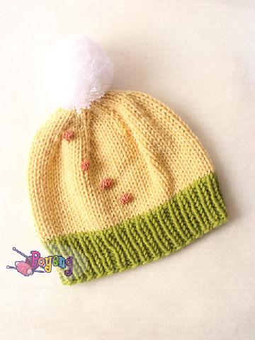 14.19.H-hat in simple bobble and pompom